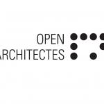 LOGO - OPEN ARCHITECTES noir sur blanc