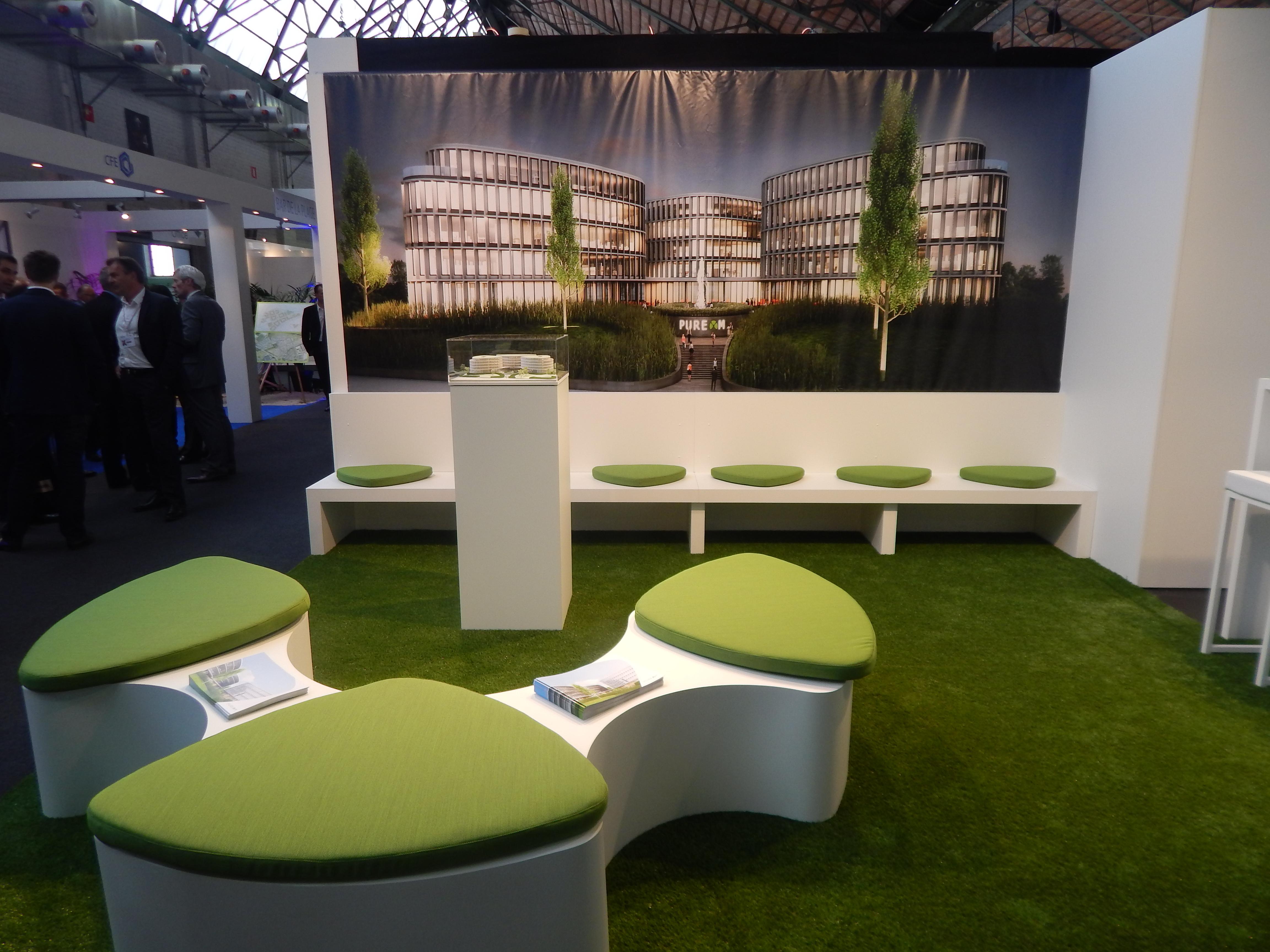 Presentatie van project Pure M op Realty beurs Brussel
